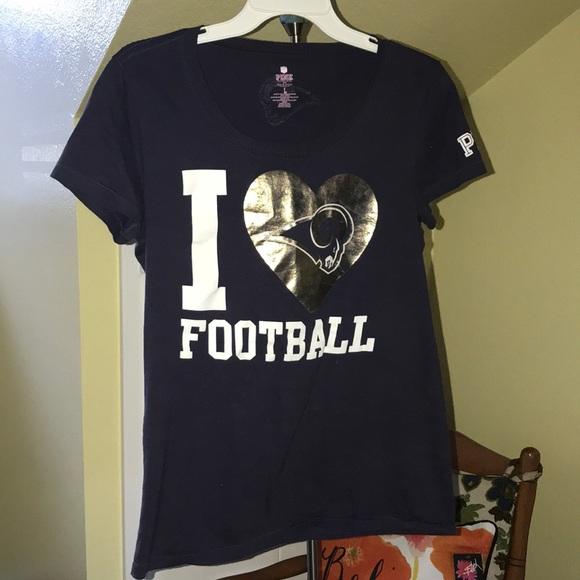 11da765cf Victoria secret Rams NFL Football shirt. M 5abc460d2ab8c52aa643f881